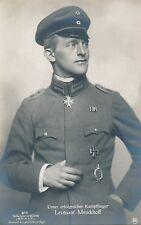 Foto, AK, Kampflieger, Pilot, Leutnant Menckhoff, Pour le Merite, Sanke (G)