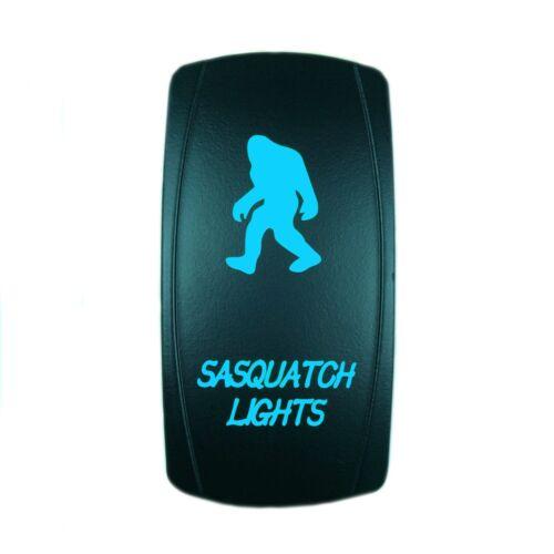 POLARIS RZR XP 1000 WATERPROOF BACK LIT BLUE LED SASQUATCH LIGHT ROCKER SWITCH