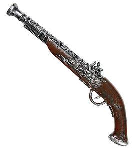 Antike Piraten Pistole 43cm Neu Zubehor Accessoire Karneval