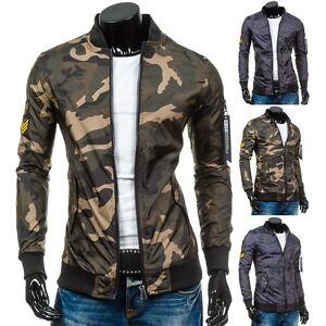 Bolf-hombre-chaqueta-sudadera-de-entretiempo-Piloto-Camuflaje-Militar-Largo-4d-4