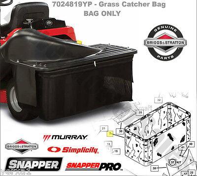 Snapper bag rear engine rider bagger grass catcher 2811238V extras SR1233