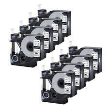 8pk For Dymo Rhino 42005200 Heat Shrink Tube 18051 Industry Label Tape 14x5