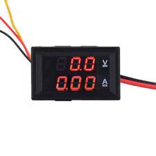 Dc 100v10a Led Digital Display Volt Amp Current Voltage Meter Voltmeter Ammeter