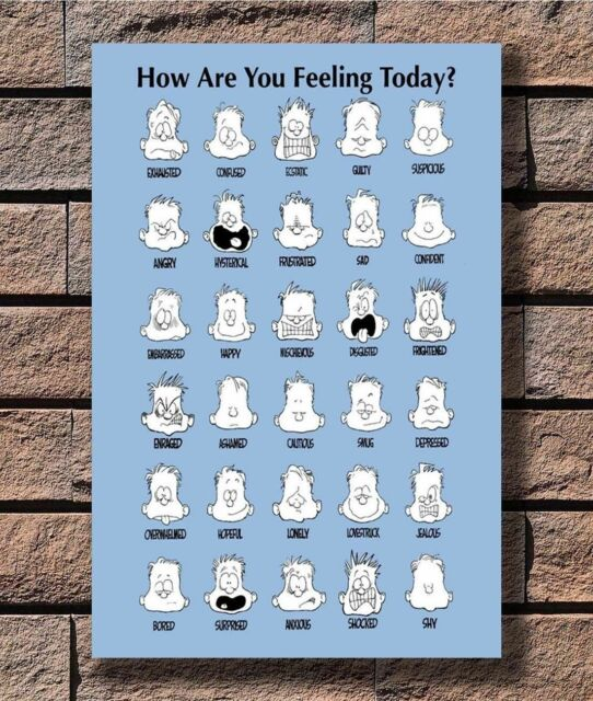 P6653 Art How Are You Feeling Today Motivational 03 Poster Hot Gift 14x21 24x36