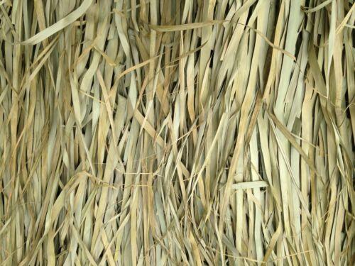 Tiki Palm Thatch Grass Bundle (5' H x 8' W - 2 sheets per bundle )