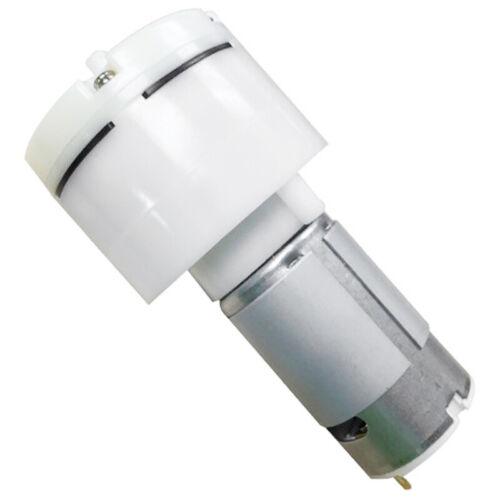 2X Micro Air Vacuum Pump Durable Diaphragm Air Pump for Home Appliances DC O2F6