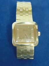 RARE ONE OF A KIND VINTAGE ESTATE SOLID 18K YELLOW GOLD ZENITH WATCH 107.3g