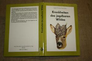 Fachbuch-Jagd-Wild-Krankheiten-des-jagdbaren-Wildes-Jaeger-DDR-1987