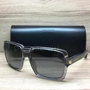 73cdb86e0d Saint Laurent SL 65 Sunglasses Opal Grey 7NR HD Authentic 57mm