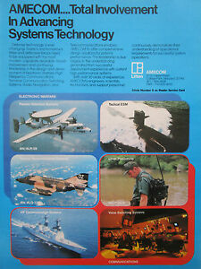 11-1977 PUB LITTON AMECOM ELECTRONIC WARFARE COMMUNICATIONS ARMY NAVY AIR AD ZwOiKBtq-09120424-164079798