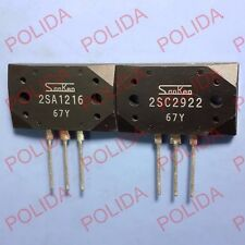 1pair or 2PCS Transistor SANKEN MT-200 2SA1216-Y/2SC2922-Y 2SA1216/2SC2922