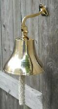 Large Solid Brass Bell Bartenders Bells Pub Tavern Drink Servers Bar Dinner Food