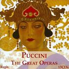 Puccini: The Great Operas (CD, Jan-2013, Regis Records)