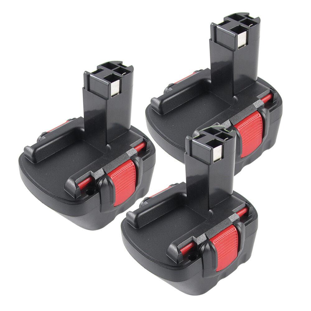 3x 12V 2.0AH Akku Für Bosch 2607335262 PSR 12VE-2 BAT043 BAT045 GSR 12 VE 2