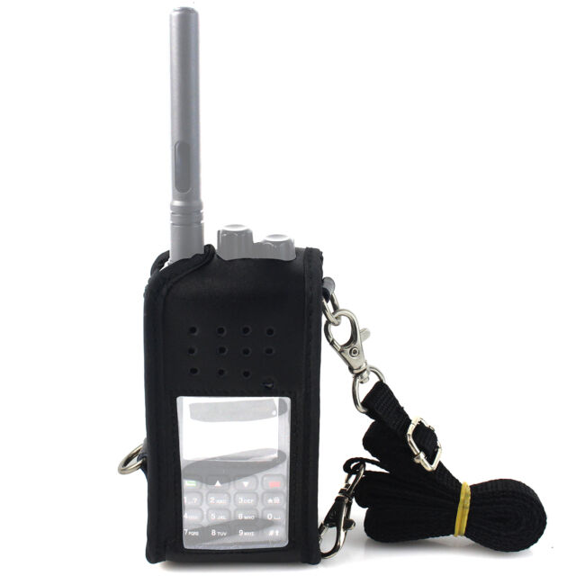 Multi-function Carrying Holder Holster Case for Retevis RT3 TYT MD-380 Radio it