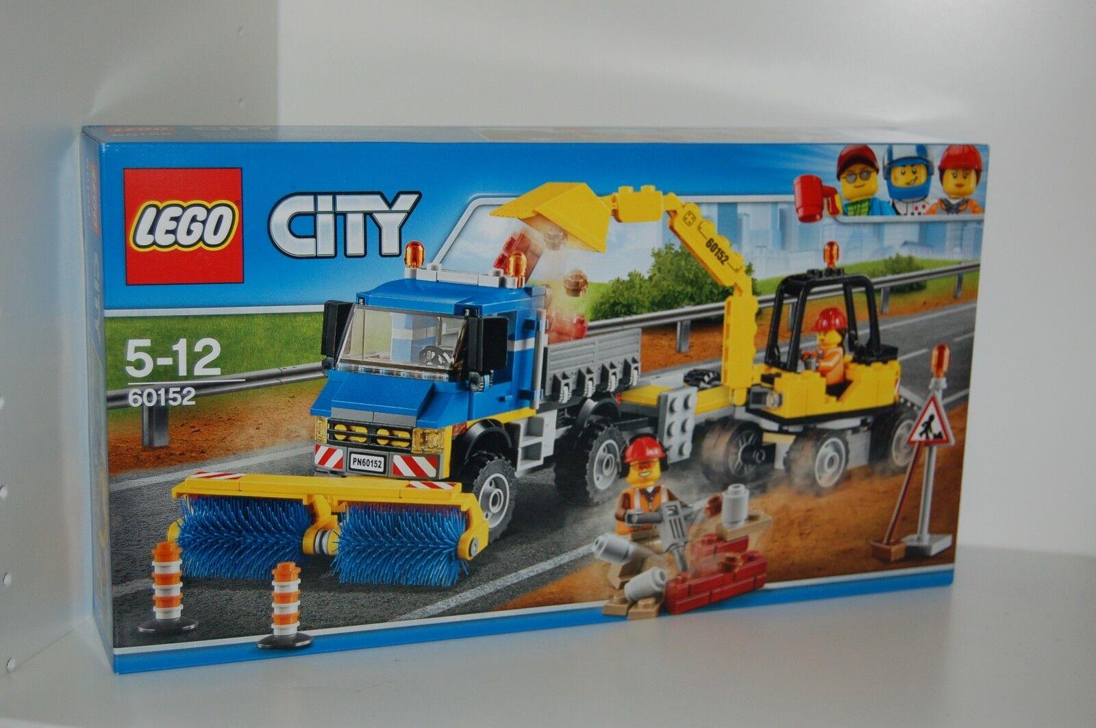 Lego City 60152 routes Nettoyant et Excavateurs NOUVEAU  S'adapte à 60075,60076,60200