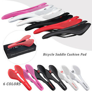 JIMAITEAM Cyclocross Bike Road Bicycle Seat Saddle Pad Cycling Carbon Fiber Look