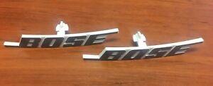 Agressif Bose 402 Ii Remplacement Logo Set De 2 Grille Cage Blanc-afficher Le Titre D'origine