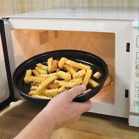 Microwave Oven Crisper Food Reheater Pan on Sale