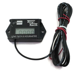 Tiny-Tach-TT2A-Digital-Hour-Meter-Tachometer-Adjustable-Resettable-Job-Timer