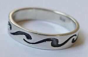 Herrenring-geschwaerztes-Dekor-925-Silber-Vintage-70er-ring-silver