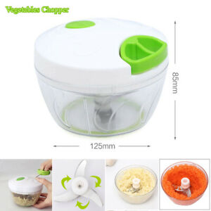 Vegetable Onion Garlic Food Quick Chopper Cutter Slicer Peeler Dicer Convenient