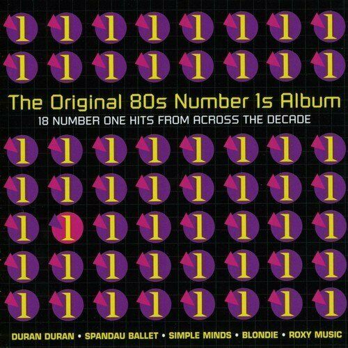 Original 80s Number 1s Album (2006, EMI) Duran Duran, Roxy Music, Special.. [CD]