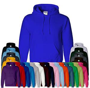 Gildan-Heavy-Plain-Mens-amp-Boys-Hoodies-Jumper-Top-Colors-Sizes-S-M-L-2XL-4XL-5XL