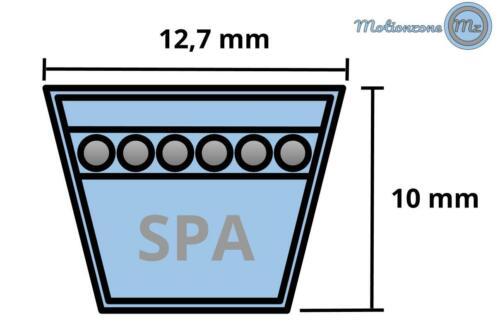 SWR Keilriemen SPA1042 Lw 12,7 x 10 x 1042 mm DIN 7753//1 Ld