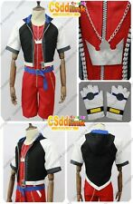 Kingdom Hearts 2.5 HD Remix Sora Cosplay Costume Ver.2 NEW Version