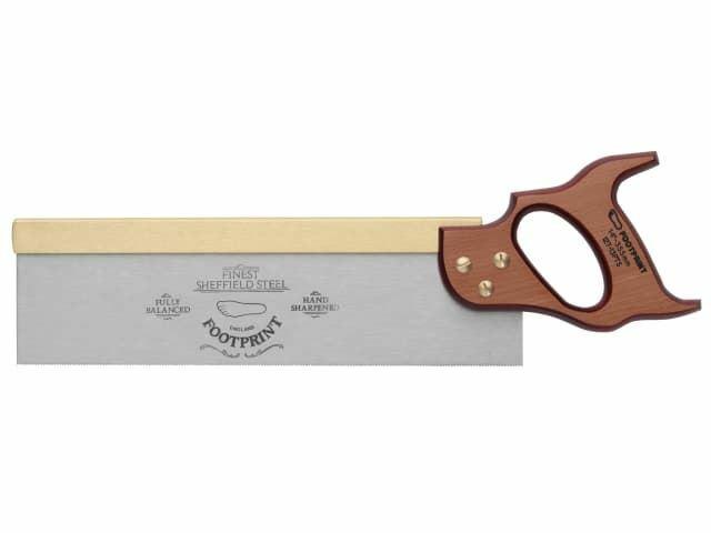 Huella  sierra trasera de latón 256, 250 mm (10 pulg.) 15 tpi