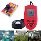 High Accurate 200,000 Lux Digital Light Meter Tester Photometer Luxmeter HS1010A