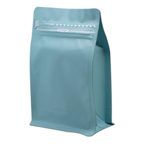 Stand Up Bags Colors Aluminum Foil Kraft Paper Vent Matte Coffee Ziplock Pouches