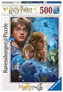 RAVENSBURGER-14821-PUZZLE-HARRY-POTTER-HOGWARTS-500-PIEZAS-Harry-Potter-Puzzle