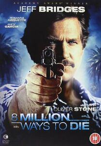 8-Million-Ways-To-Die-Jeff-Bridges-DVD-NEW-amp-SEALED