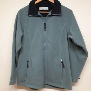 Regatta Woman's Ladies Fleece Jacket Full Zip with pockets Light Blue Size UK 14