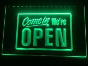 """16/""""x4/"""" OPEN Neon Sign Light Shop Store Bar Cafe Pub Party Business Lamp Decor"""