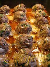 "☆Smoked Mozzarella Stuffed Meatballs ""RECIPE""☆+ 2 Marinara Sauce Recipes!☆"