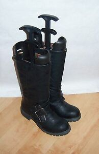 Black Size Man Boots 3 Uk Biker New Eur Blowfish Made Womens 36 A0tqHZxE