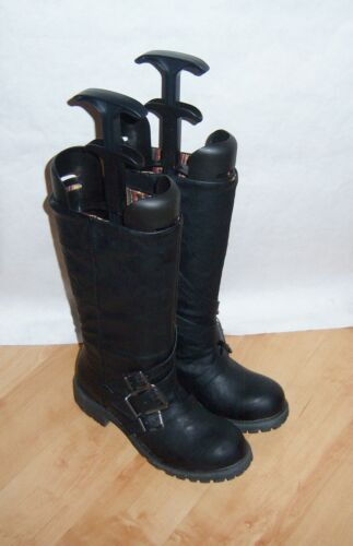 Eur New Black Man Boots Biker Blowfish 3 Made Size 36 Uk Womens xw41RHxq7v