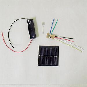 Details about Solar Auto Light DIY Kit Blue LED