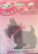 Tulip Glam It Up! Iron-On Scottie Dog Crystal Rhinestone Fashion Design