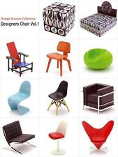 Miniature Designer Chair Collection 1/12 Scale Vol.1 - 9 assorted sets