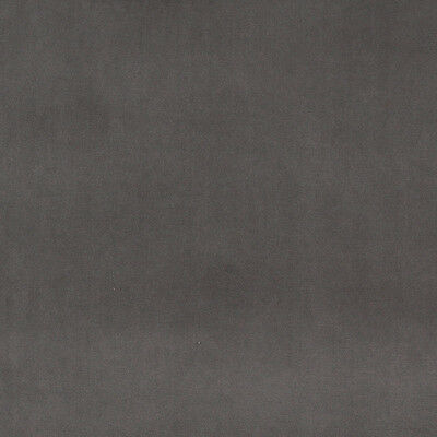 Pattern # A0001F Dark Grey Authentic Cotton Velvet Upholstery Fabric By The Yard