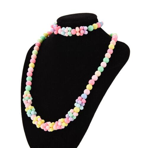 Baby Mädchen Halsketten Armband Prinzessin Kinder Schmuck Mädchen Schmuck EV
