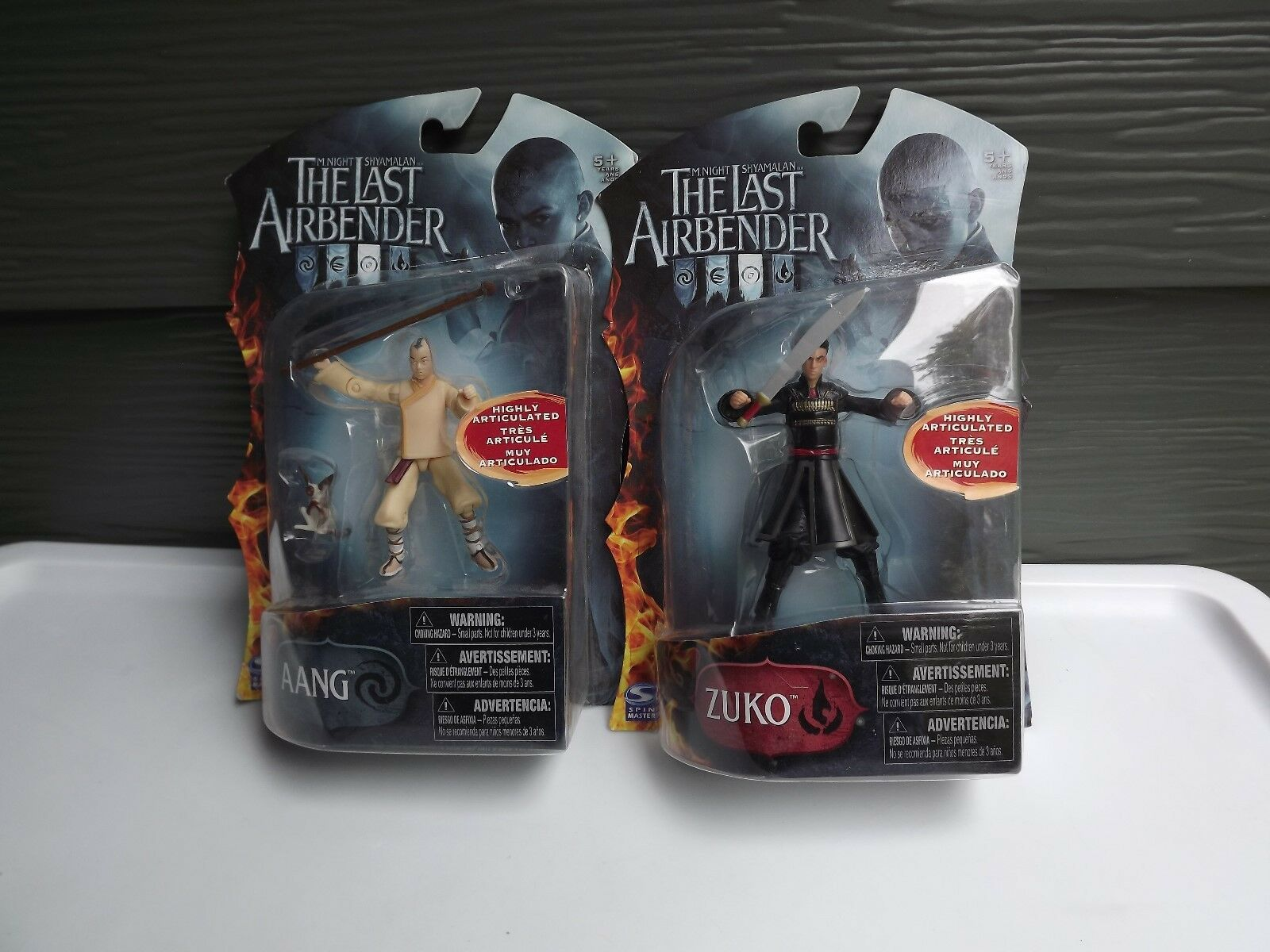 Spin Master Avatar the Last Airbender Zuko and Aang Action Figure