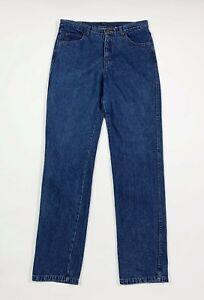 International-jeans-uomo-usato-W36-tg-50-gamba-dritta-blu-denim-boyfriend-T6763