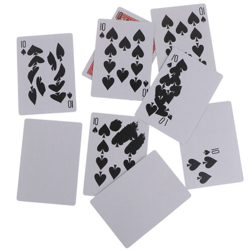 Magic Tricks Props Fast Printing Gimmick Cards Stage Close up illusion MagicBLUS