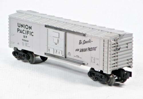 """Lionel 6-39208 Union Pacific UP /""""Be Specific/"""" Boxcar Diecast Frame 2000 C10"""