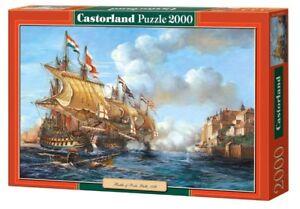 CASTORLAND 200252 SUNK GELLEON 2000 TEILE PUZZLE